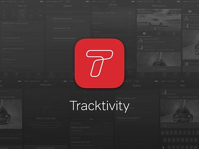 Tracktivity Icon icon app mobile apple iphone ios