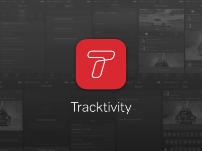 Tracktivity Icon icon app mobile apple iphone ios