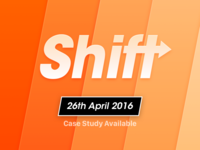 Shift — Coming today!