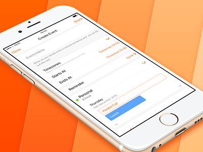 Shift — Create Event mobile app facebook converter timezone create event iphone ios apple