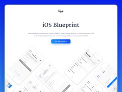 Blueprint - Landing Page