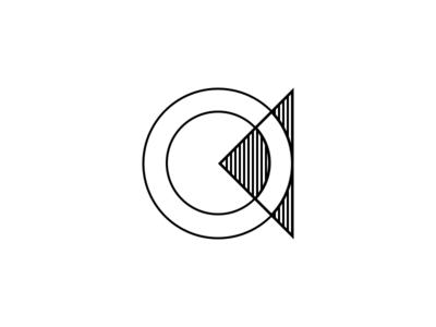 CryptoCoins brand physical digital simple white black branding logo
