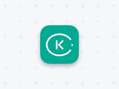 Kiwi.com android logo icon mobile app iphone ios