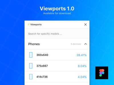 Viewports 1.0 application android ios mobile release plugins app plugin figma