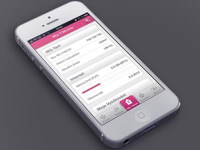 Můj T-Mobile app redesign