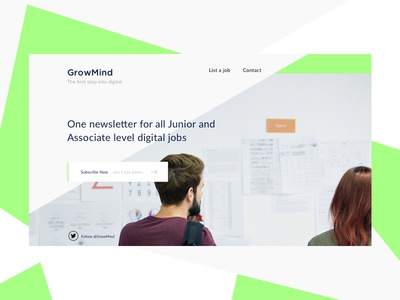 Lernt - Junior & Associate jobs to your inbox weekly digital jobs form subscribe email sign-up signup page email capture newsletter signup newsletter desktop landing page