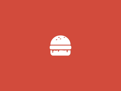 The Burger Collective / Burger Division frame by frame burger red animation motion food illustration