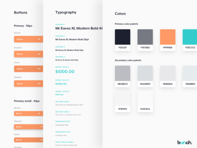 Bunch / Style Guide