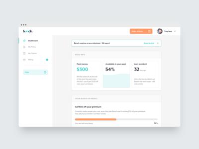 Bunch / User Dashboard