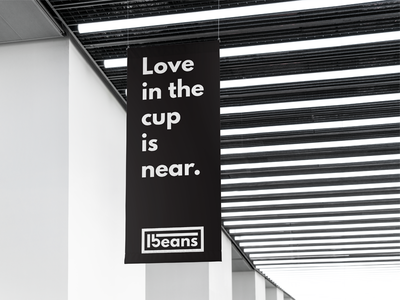 """Love In The Cup Is Near / """"15 beans"""" branding project"""