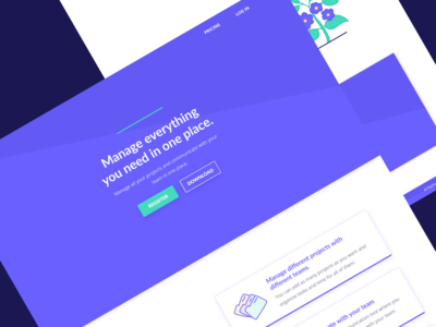 MyTime — Landing Page