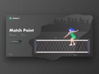 Tennis Streaming UI