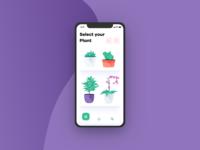 Plant Care App - Select Plant