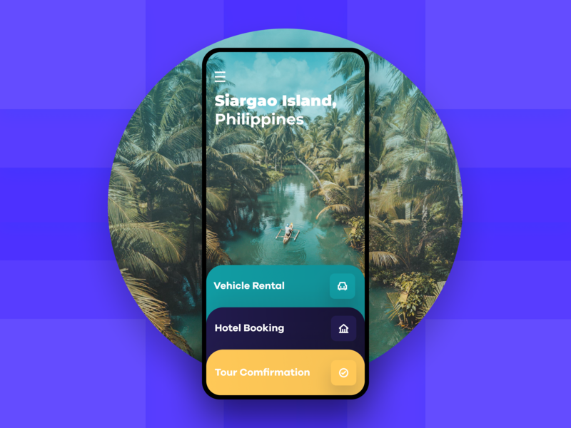 Tour Planning App travel app book rent travel figma ui ux flat gradient typography modern agency ios ia app creative mobile business interface explore
