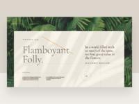 Framboyant folly