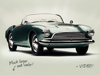 Aston Martin – Photoshop