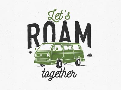 Let's roam together