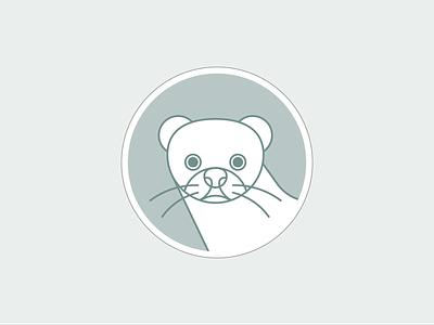 Essere Animali - Saving minks illustrator vector outline minimal graphic design illustration animal rights vegetarian vegan protection face cute mink animal illustration icon pictogram animal