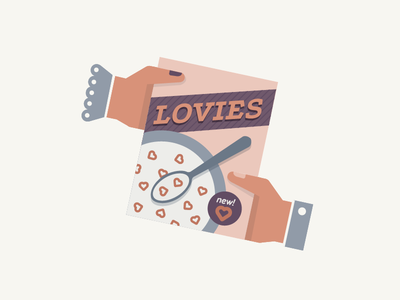 Love pt.6 illustration vector flat hands hearts love pastel app dating
