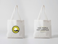 Hole Food Rescue Tote Bags