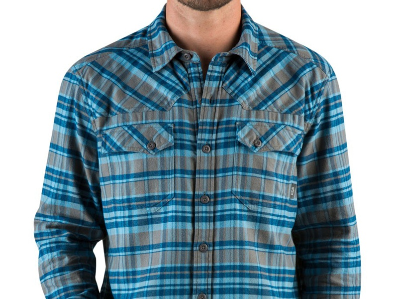 Stio Junction Flannel Pattern Design apparel clothing repeat patter pattern design flannel stio
