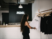Rebel Cycle Neon Sign