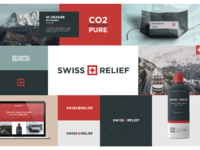 Swiss relief moodboard