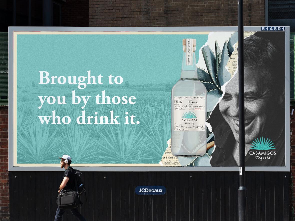 Casamigos Billboard marketing alchohol billboard tequila casamigos mock up advertising