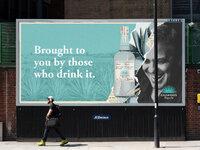 203 billboard urban poster mockup