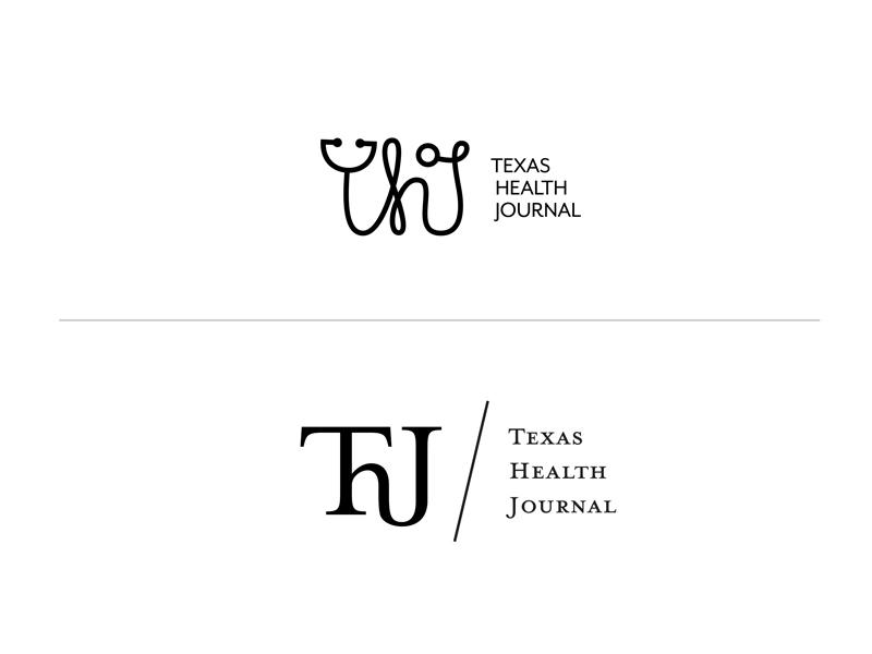 Texas Health Journal_2 branding brand hand lettering type design ligature journal texas logotype logo wordmark lettering typography