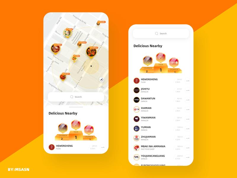 App Food ui