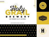 Holy Grail logo lockup