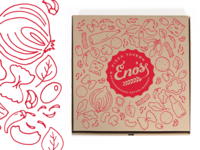 Eno's Pizza Box Design