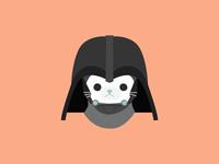 Cat Vader illo