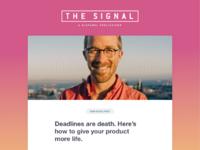 Signal template