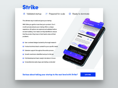 Strike ⚡️