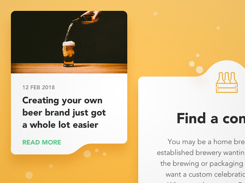BrewBroker Web Components icon brewery brewing beer smooth gradient fluid bubble blog post