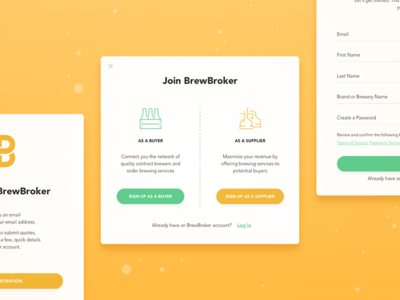 BrewBroker Registration Form