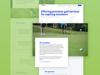 Golf Startup Case Study