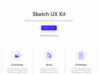 Sketch UX Kit