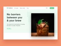Brewbroker homepage hero