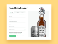 BrewBroker Registration