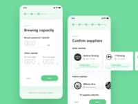 Brewbroker registration flow on mobile