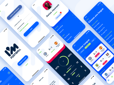 I'M Football soccer football rounded corners ui ios icons application app shadows