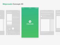 Mojoreads: Delightful Login Screen 🙈 ios after effect principle concept interaction design ux app animation ui