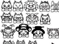 JapanCuccok Characters