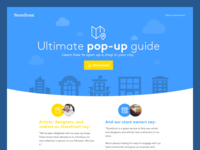 Pop-up Guide Landing Page
