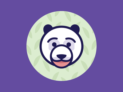 Panda thicklines panda