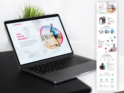 myHealthTrack Website Design uidesign website website design