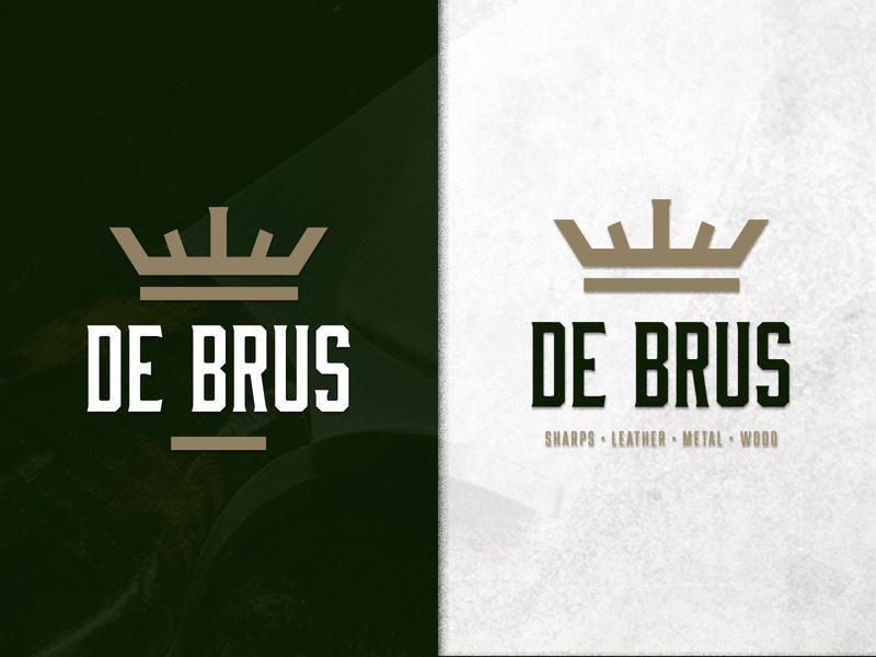 De Brus Logo design branding logo